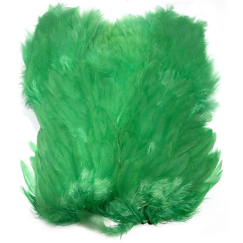 Softhackle patch Green Highlander