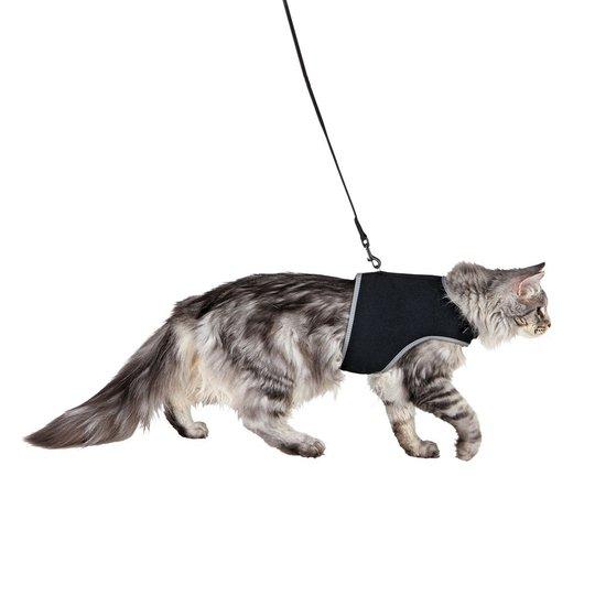 Trixie Mjuk Kattsele med Koppel XL