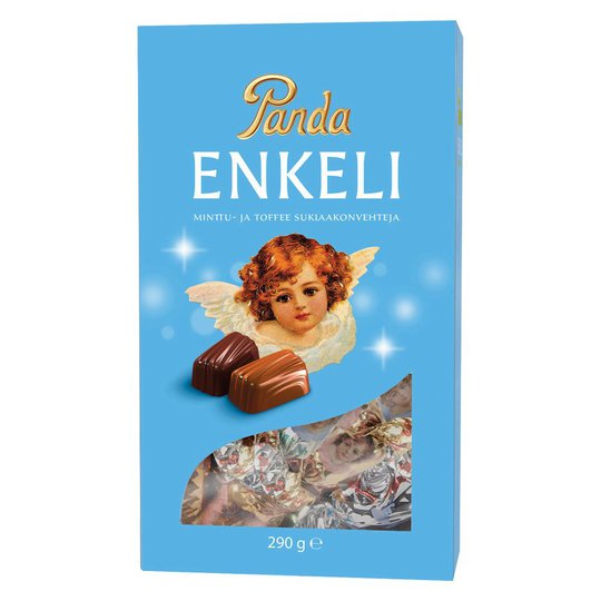 Chokladkonfekt Mint- & Toffeefyllning 290g - 62% rabatt
