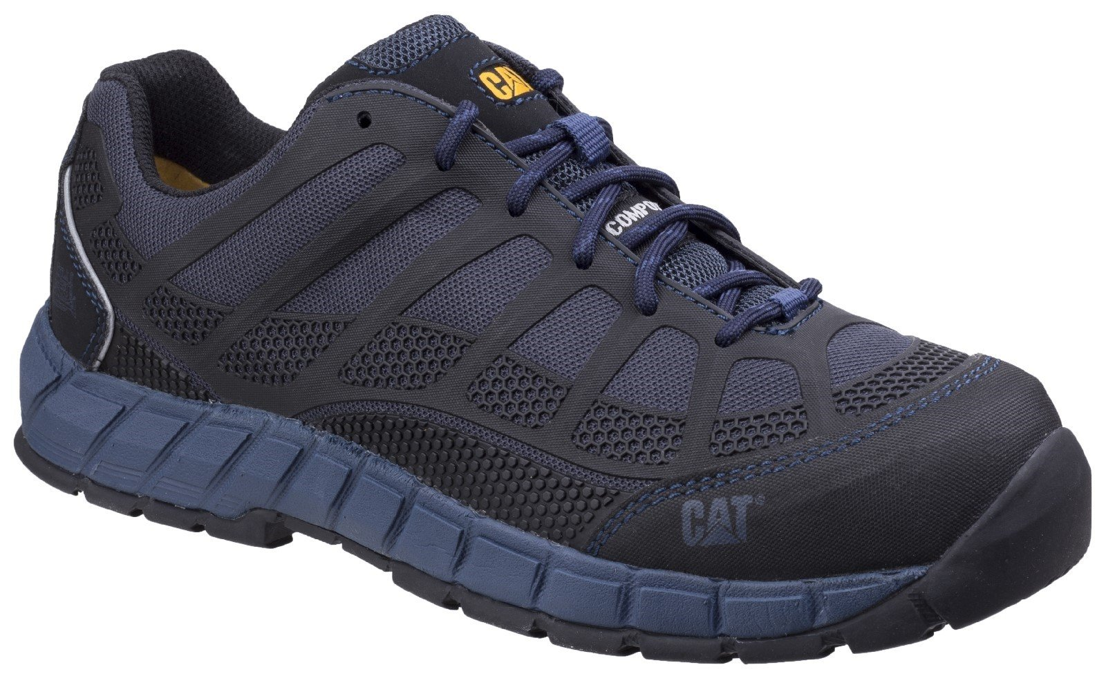 Caterpillar Men's Streamline Lightweight Trainer Blue 26948 - Blue Nite 6