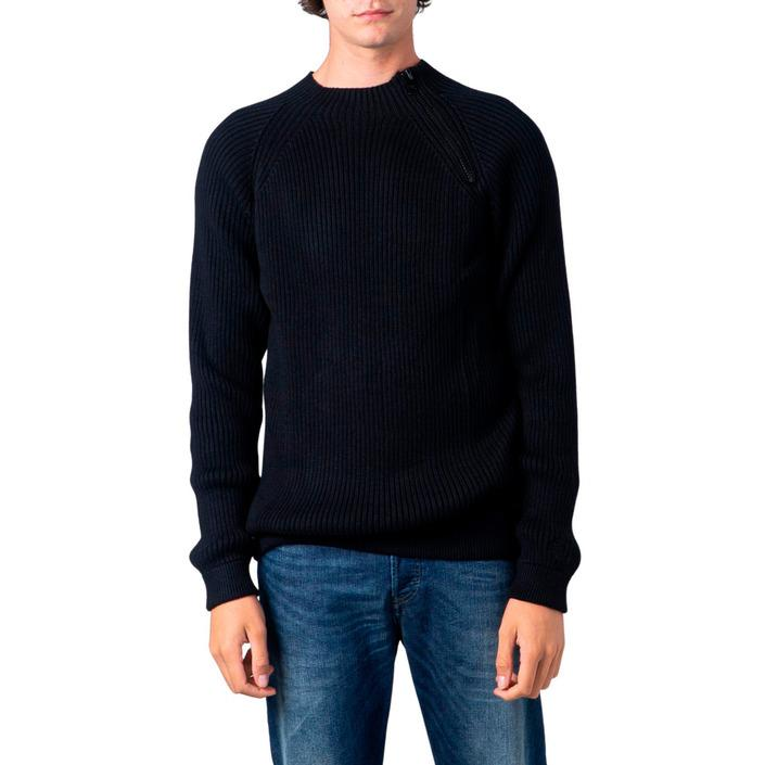 Calvin Klein Jeans Men's Sweatshirt Black 181411 - black XS