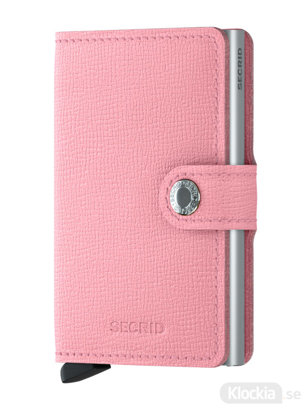 Plånbok SECRID Miniwallet Crisple Pink