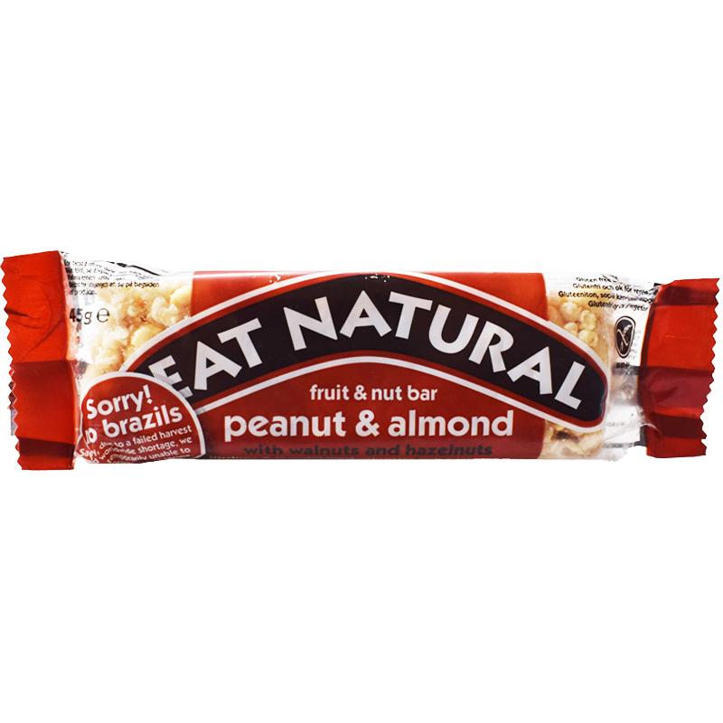 """Bar """"Peanut & Almond"""" 45g - 46% rabatt"""