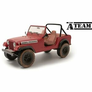 Greenlight Collectibles - 1/18 Artisan Collection - The A-Team (1983-87 TV Series) - J