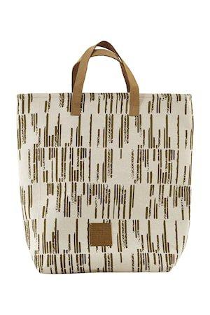 Shopping bag, Row, Sand, 41 x 38 cm