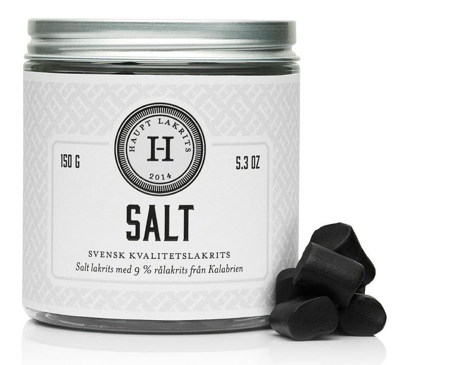 Haupt Lakrits - Salt 150g