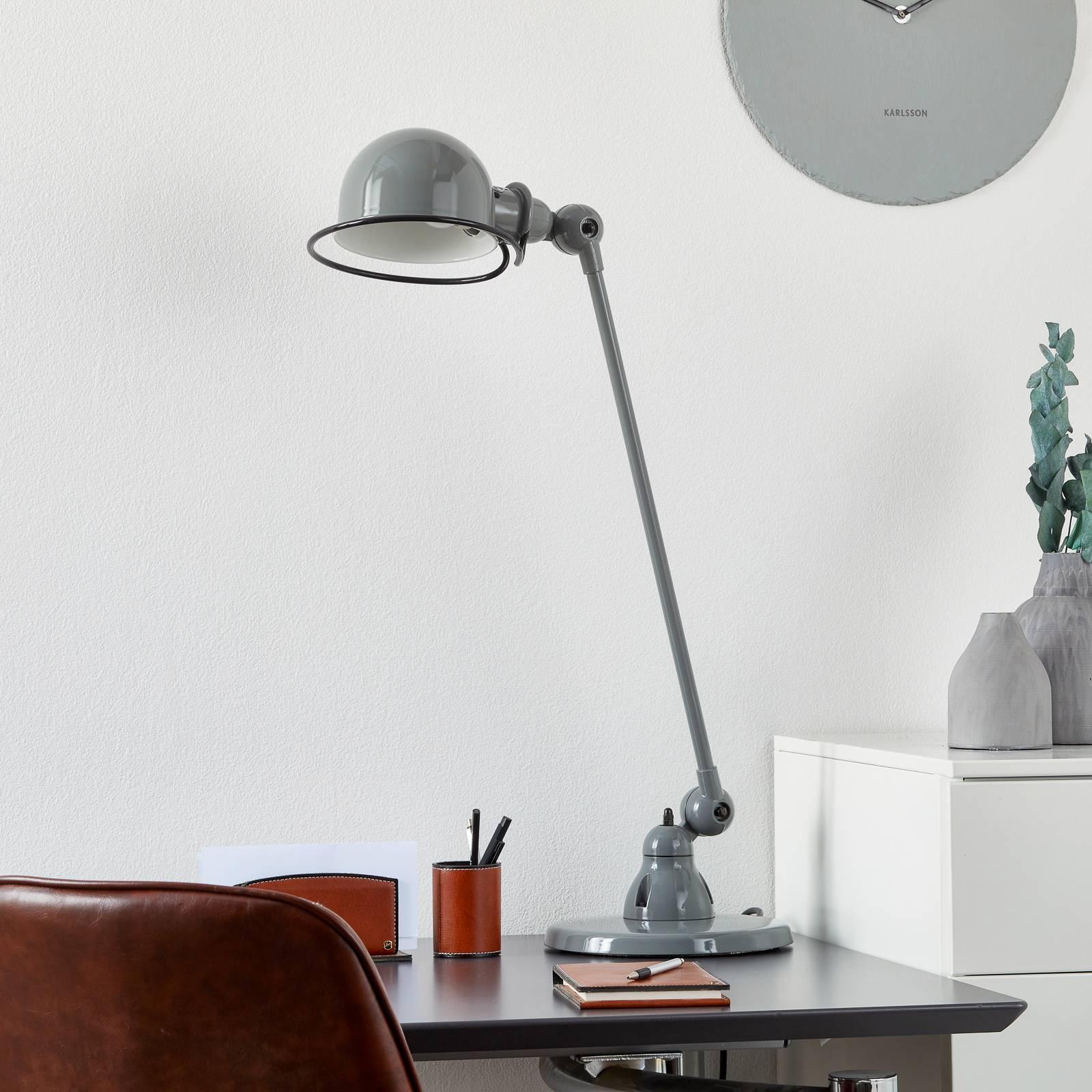 Jieldé Loft D6000 -pöytävalaisin, harmaa