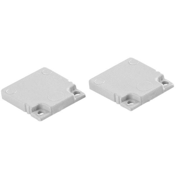 Hide-a-Lite 7552580 Gavl 2-pakning, høy U-profil Plast