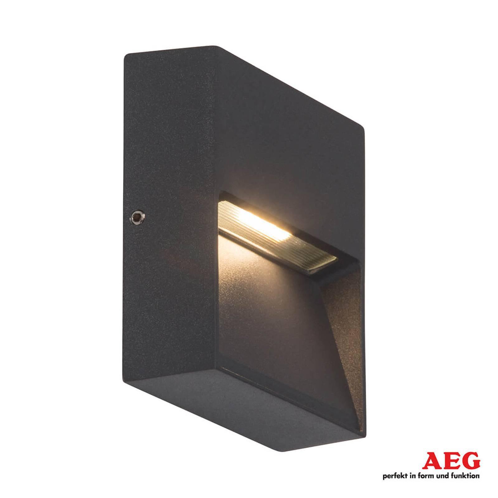 Front firkantet LED-vegglampe for utendørsbruk