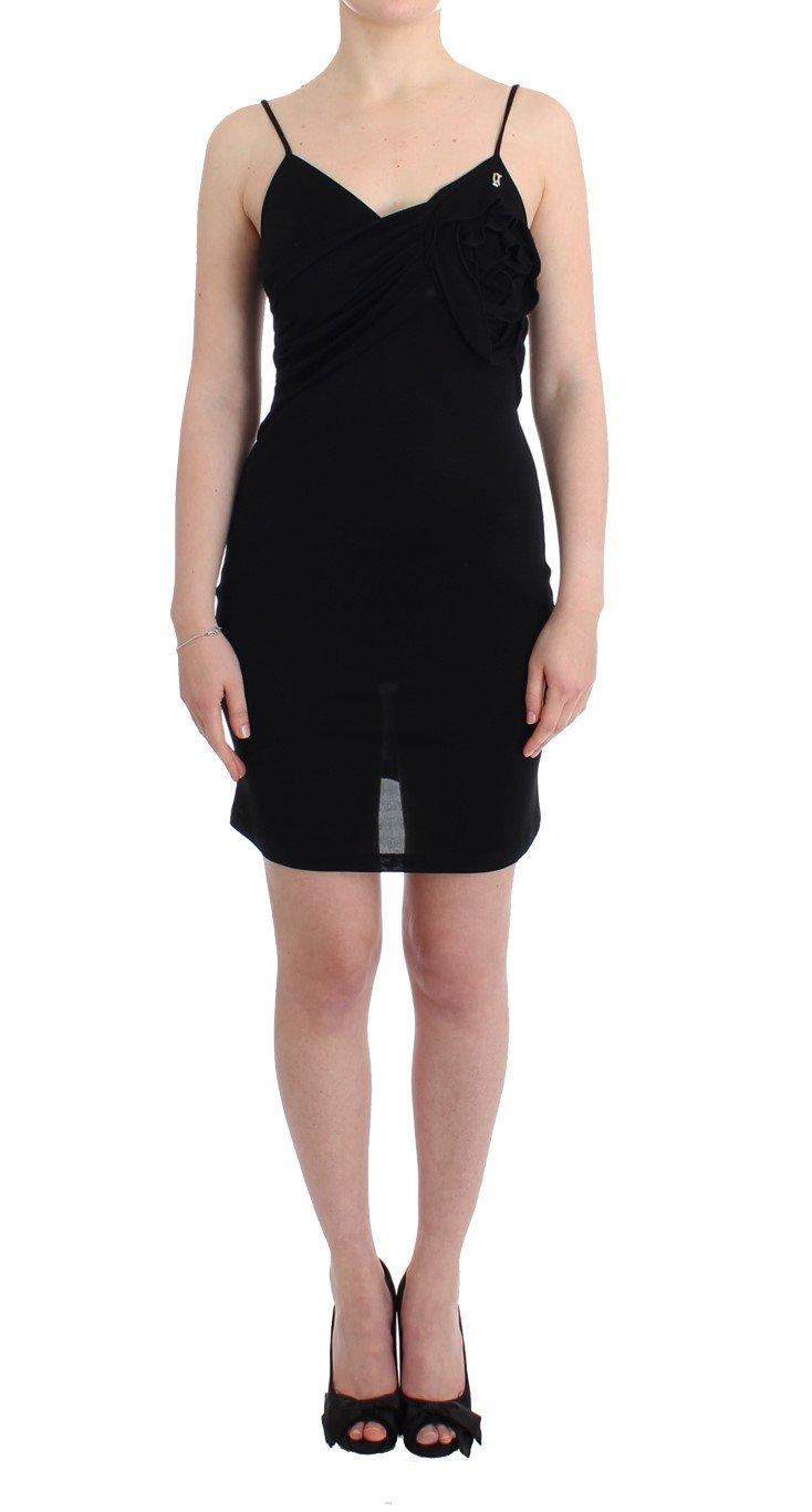 John Galliano Women's Coctail Dress Black SIG11560 - IT46 XL