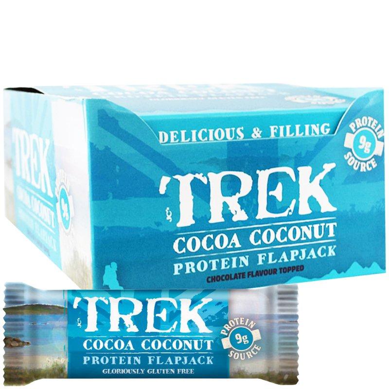 """Kokonainen laatikollinen proteiinipatukoita """"Cocoa & Coconut"""" 16 x 50g - 67% alennus"""