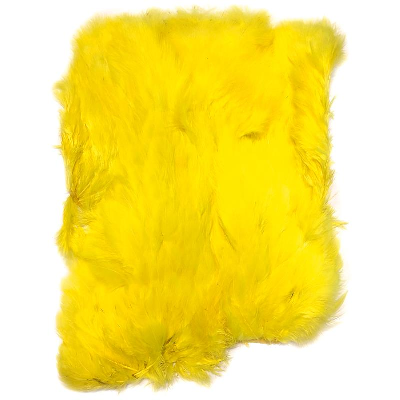 Softhackle patch Fluo Yellow