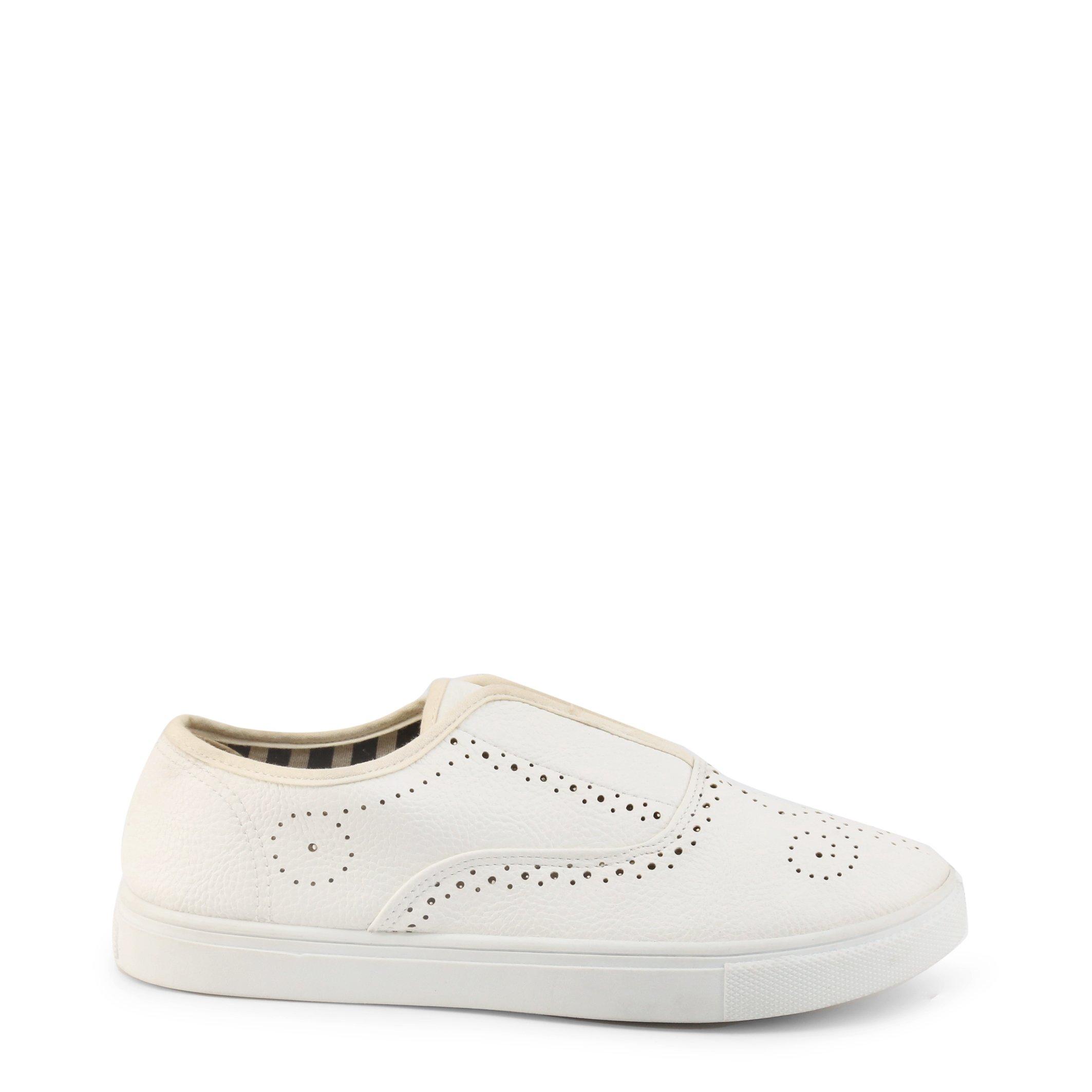 Roccobarocco Women's Slip On Shoe Various Colours RBSC1C701 - white EU 39