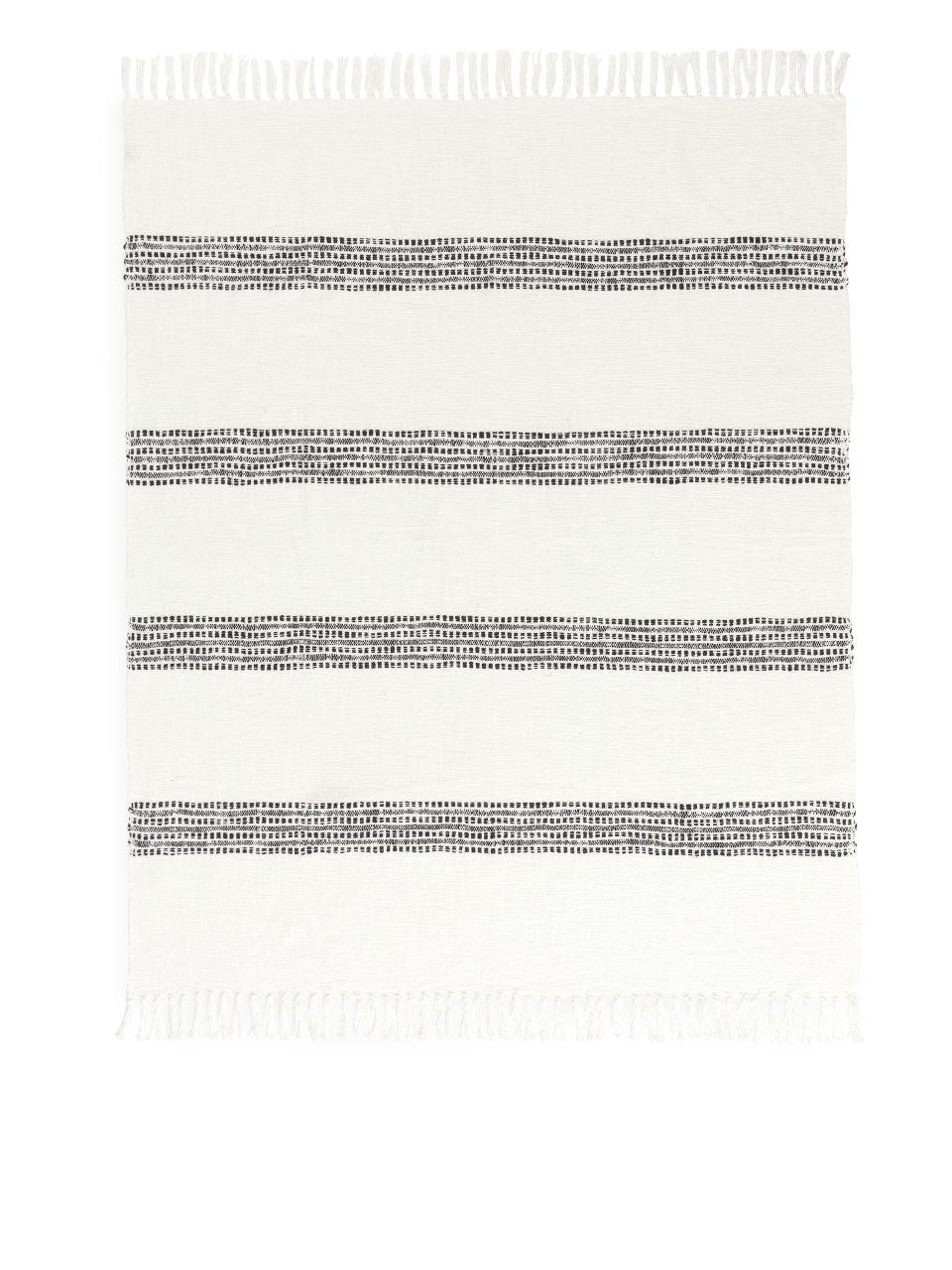 House Doctor Cotton Blanket - White