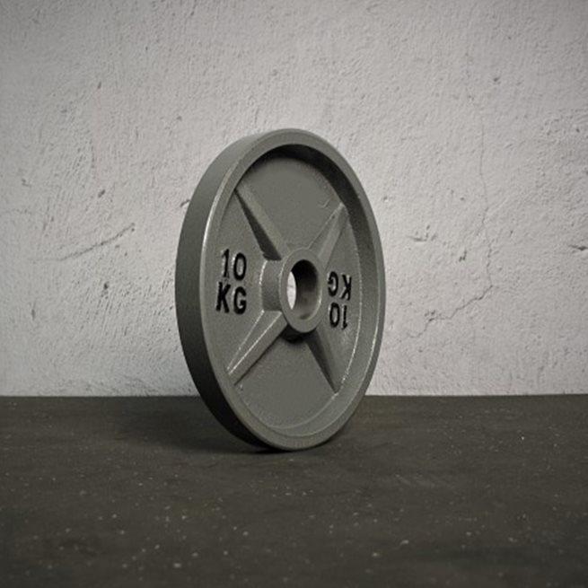 Master Fitness Master Inronplate Machined, Viktskiva järn