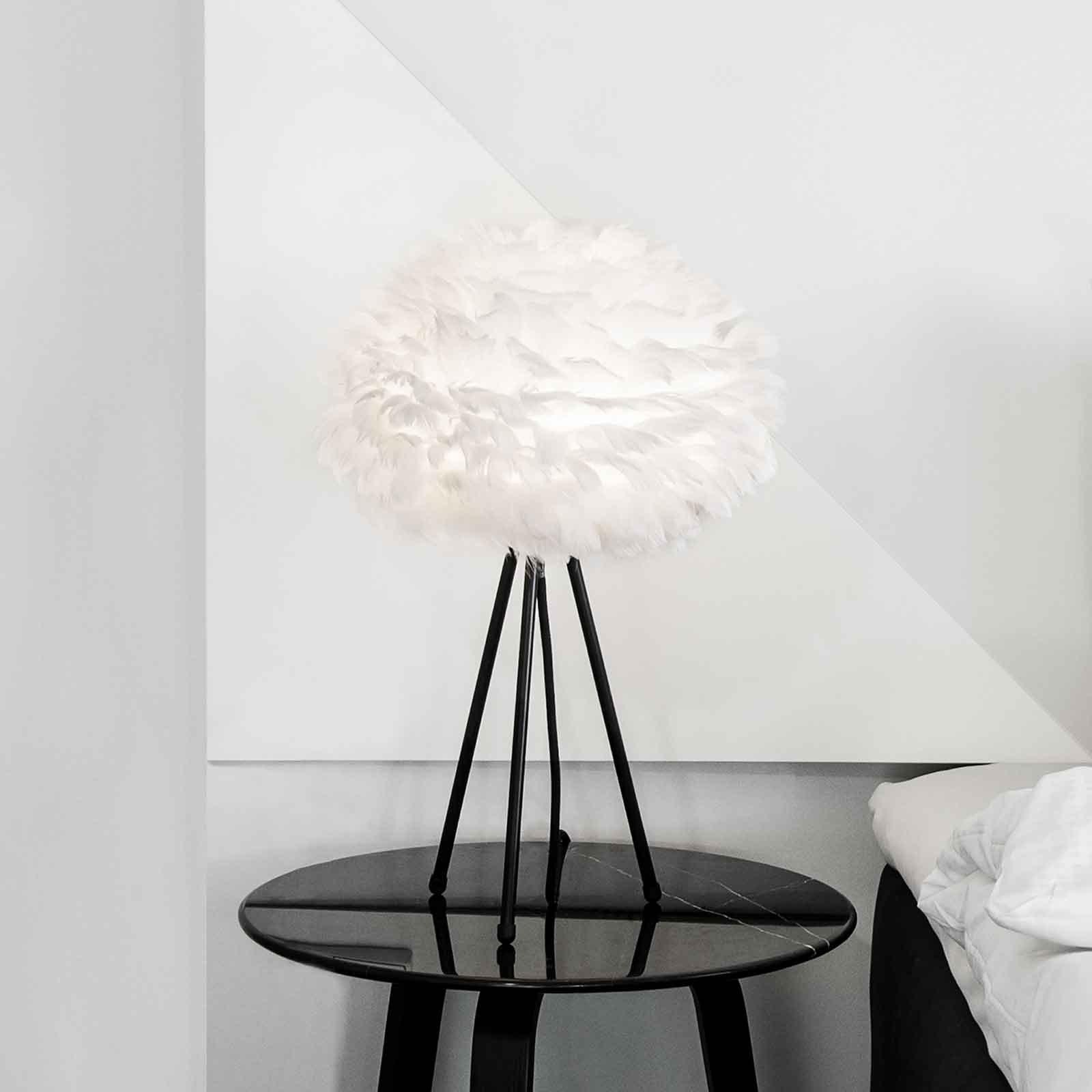 UMAGE Eos Mini bordlampe hvit/tripod svart