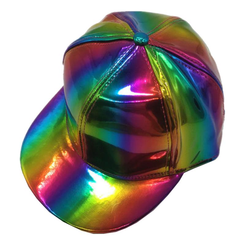 Skimrande Flerfärgad Keps - One size