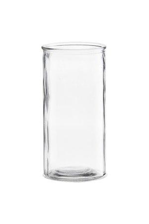 Vase Cylinder Ø 10x20 cm - Klar