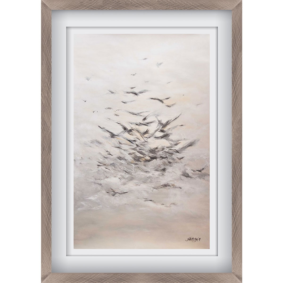 A Migration Pewter - Large