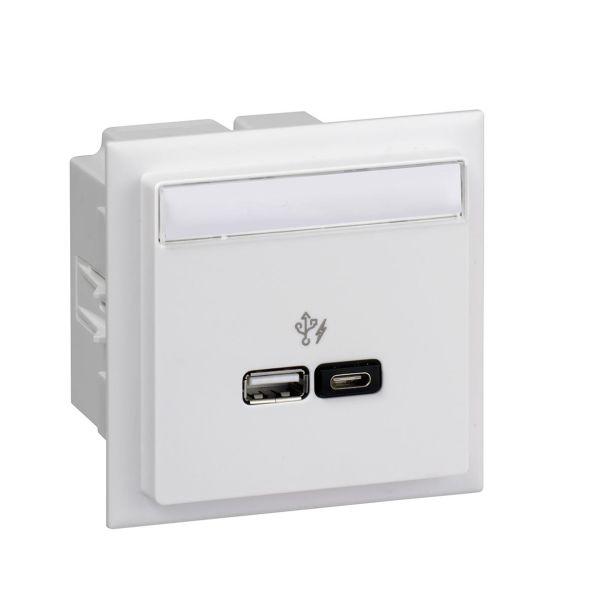 Schneider Electric INS60522 USB-lader for CYB