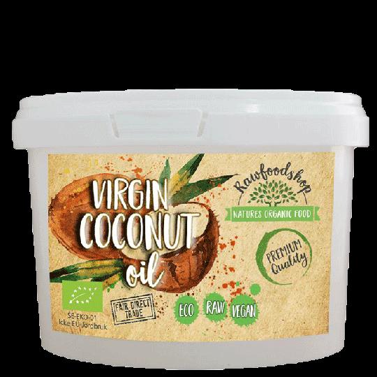 Raw Kookosöljy Virgin, 400 grammaa