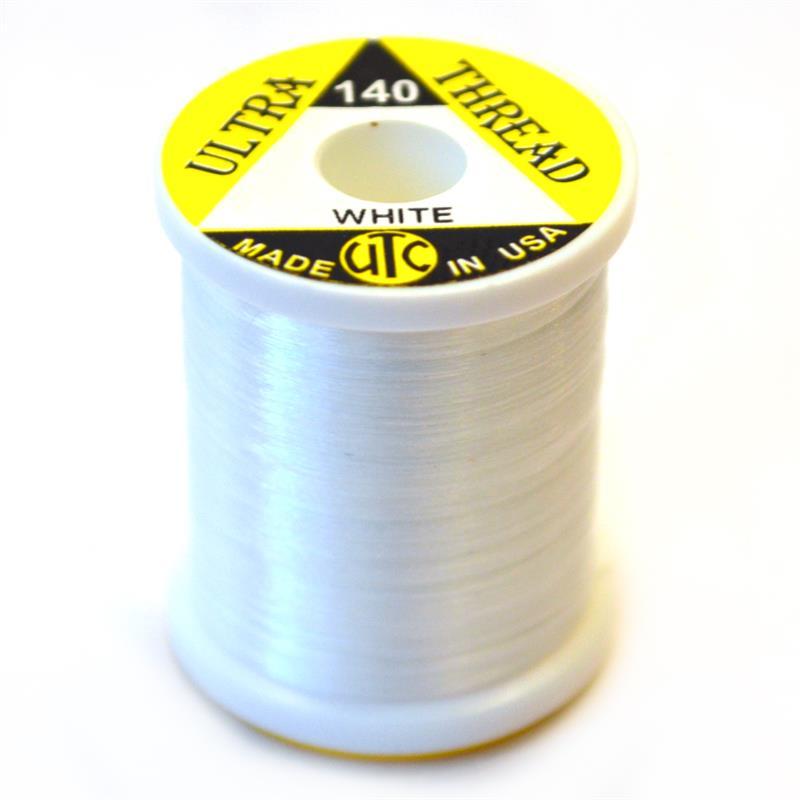 UTC Bindetråd Ultra GSP 100D - White 50yds