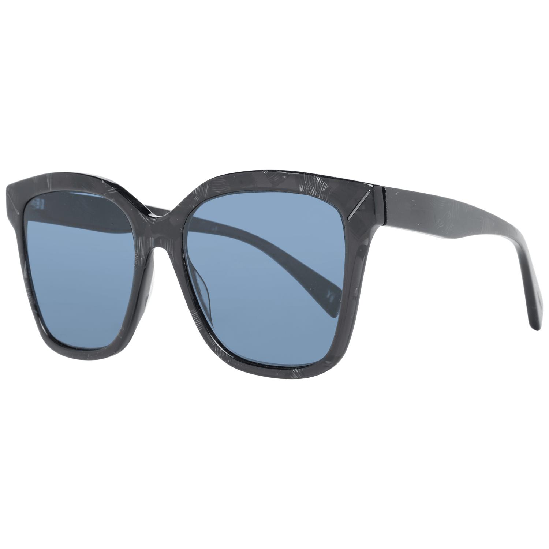 Yohji Yamamoto Women's Sunglasses Black YS5002 55024