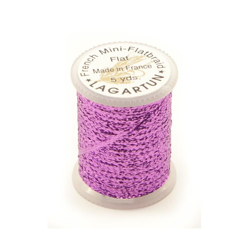 Lagartun Mini-Flatbraid - Lilac