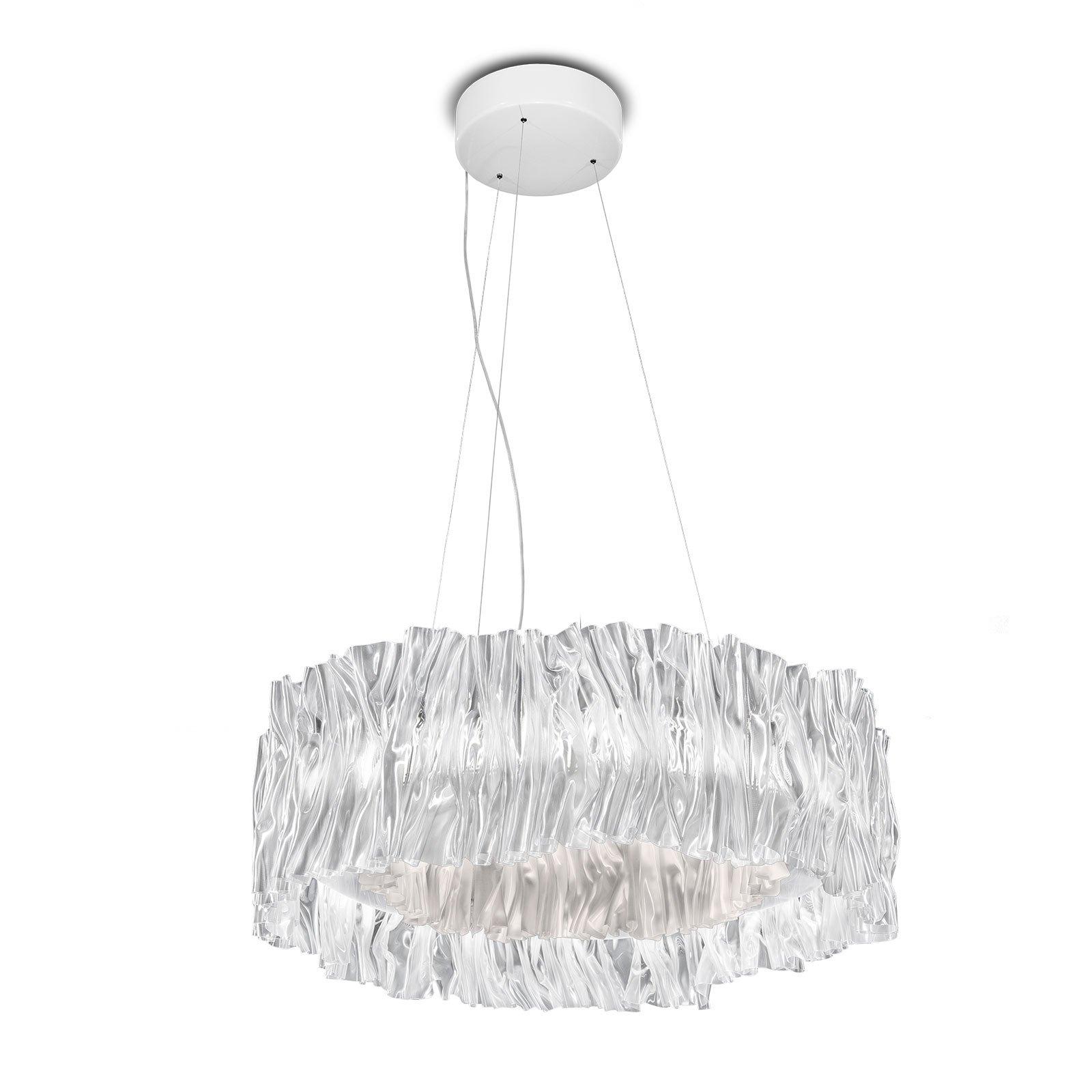 Slamp Accordéon LED-hengelampe hvit 3 000 K
