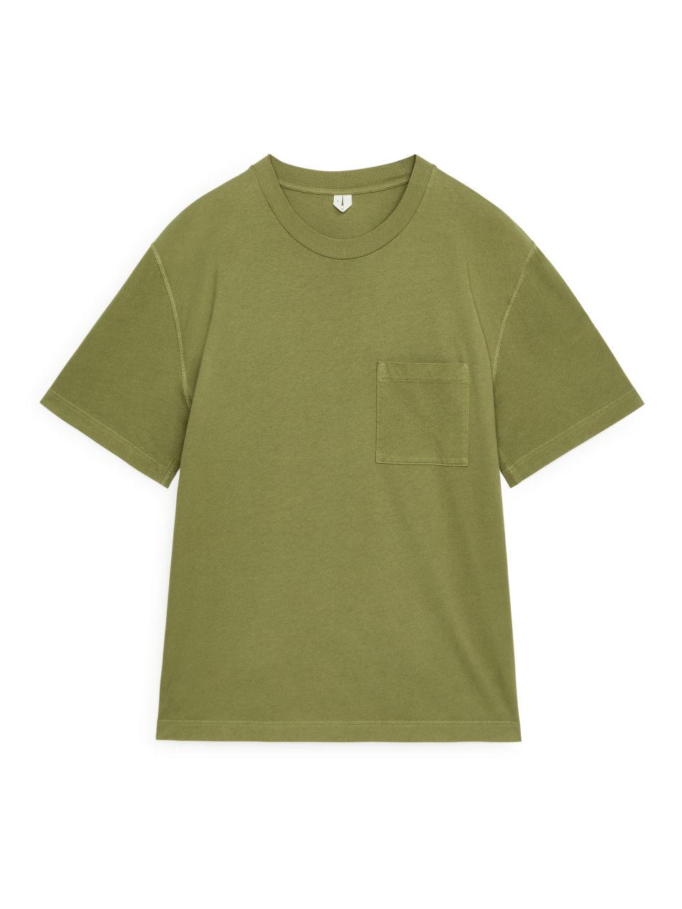 Garment-Dyed T-shirt - Green