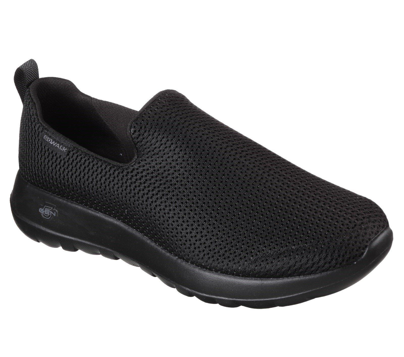 Skechers Men's GOwalk Max Slip On Trainer Black 26508 - Black/Black 7