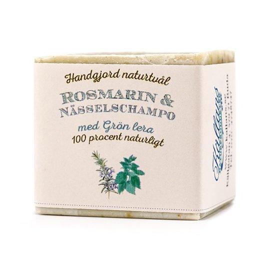 Källans Naturprodukter Schampotvål Rosmarin & Nässla, 130 g