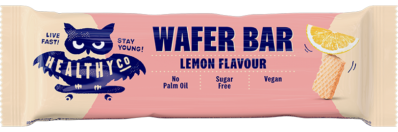 Healthy Co Wafer Bar - Lemon 24g