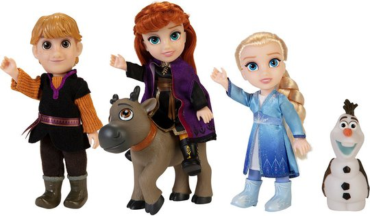 Disney Frozen 2 Små Eventyrfigurer Giftset 15 cm