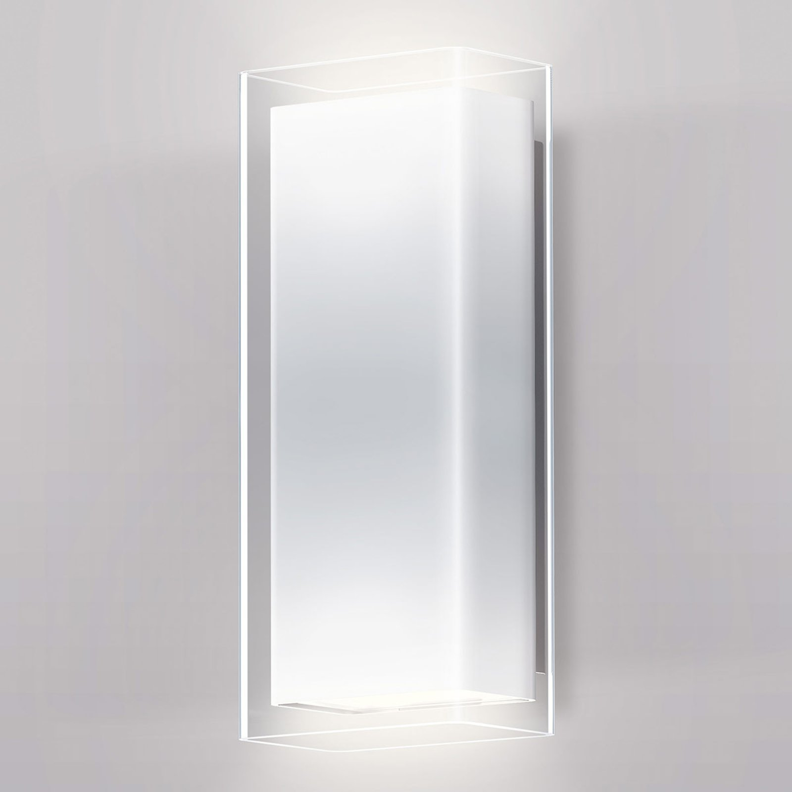 serien.lighting Crib Wall LED-vegglampe, opal