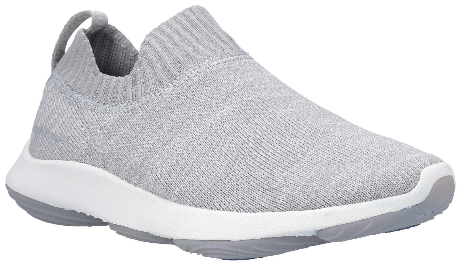 Hush Puppies Men's Free BounceMAX Slip On Trainer Various Colours 29240 - Cool grey 3