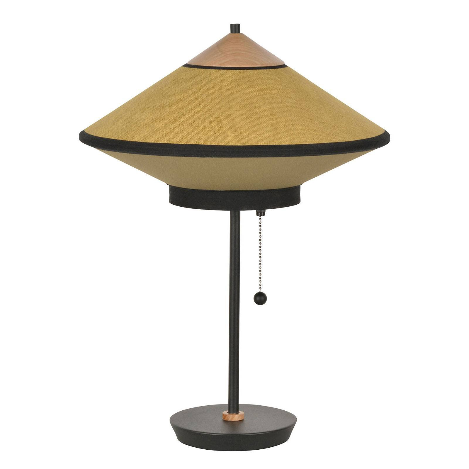 Forestier Cymbal S bordlampe, bronse
