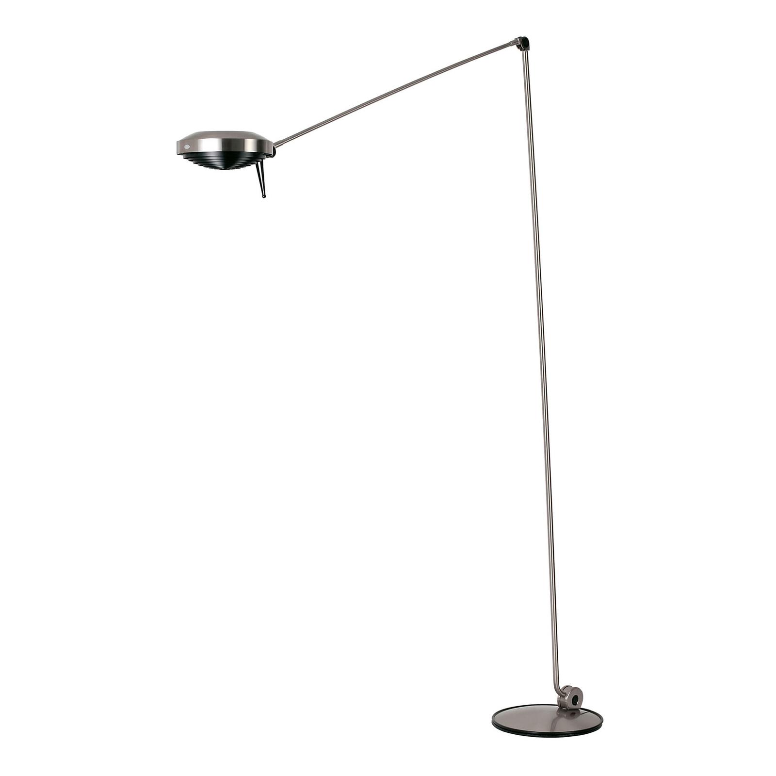 Lumina Elle -LED-lattiavalo, 200 cm, pronssi