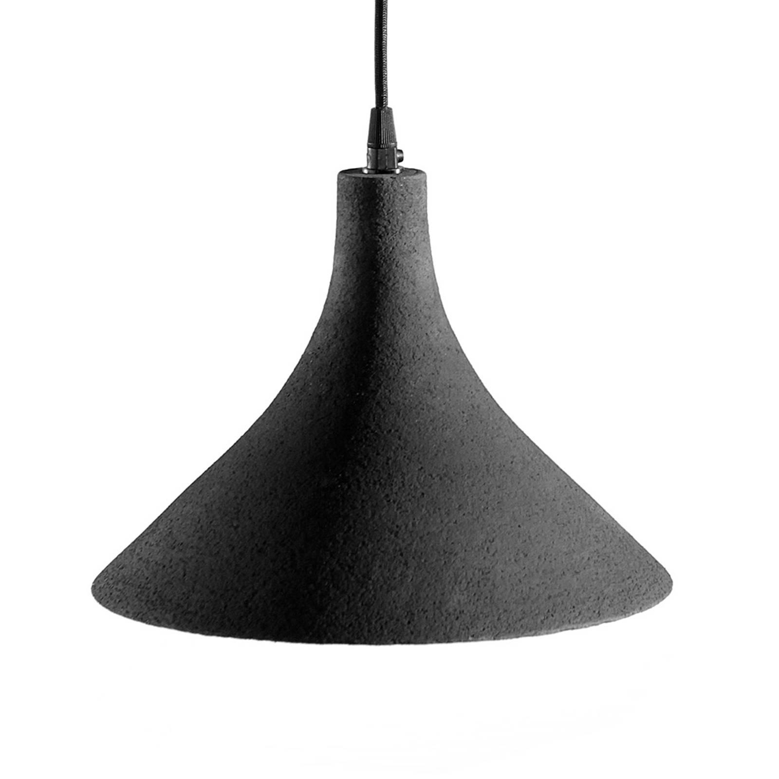 Karman T-Black - design-riippuvalaisin, 27,5 cm