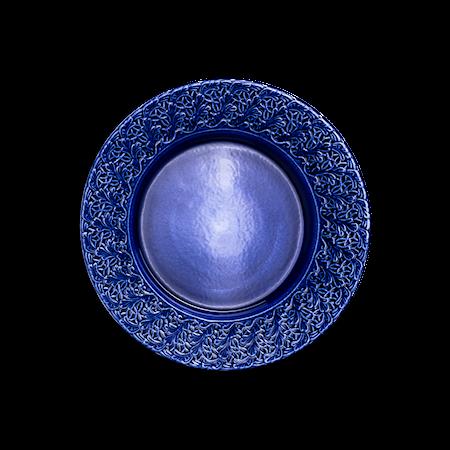 Spets Tallrik Blå 32 cm