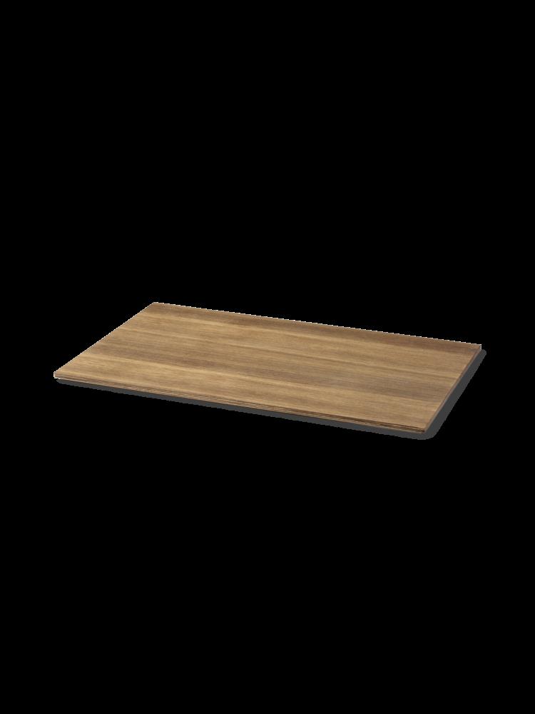 Ferm Living - Tray For Plant Box Wood Large - Smoked Oak Veneer (110222316)