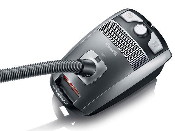 Severin - Vacuum Cleaner SPower Snowwhite 3 L BC 7045 750 watt - Platin Grey (493806)