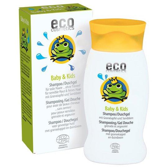 Eco Cosmetics Naturligt Barnschampo / Duschgel, 200 ml