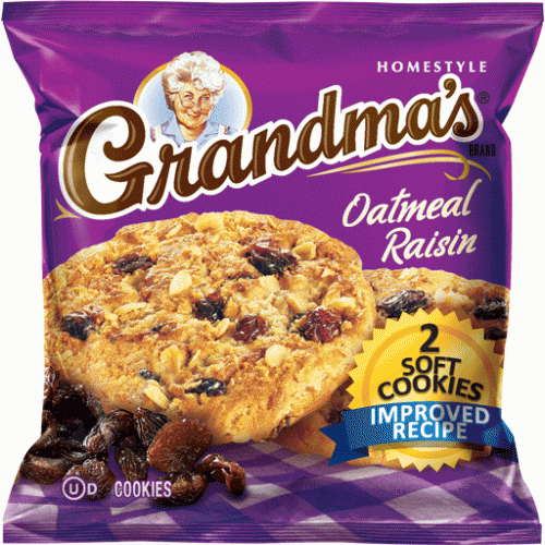 Grandmas Cookie Oatmeal Raisin