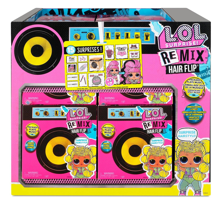 L.O.L. Surprise! REMIX Hairflip Tots Asst in PDQ