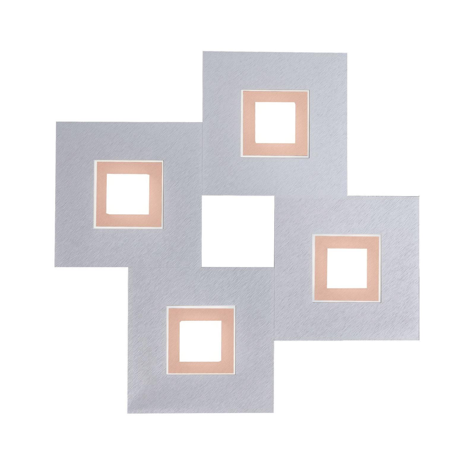 GROSSMANN Karree 4-lamppuinen 50x50 alumiini