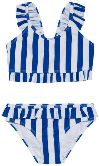 Petite Chérie Amalfi UV-Bikini UPF50+, Blue Stripe, 86-92