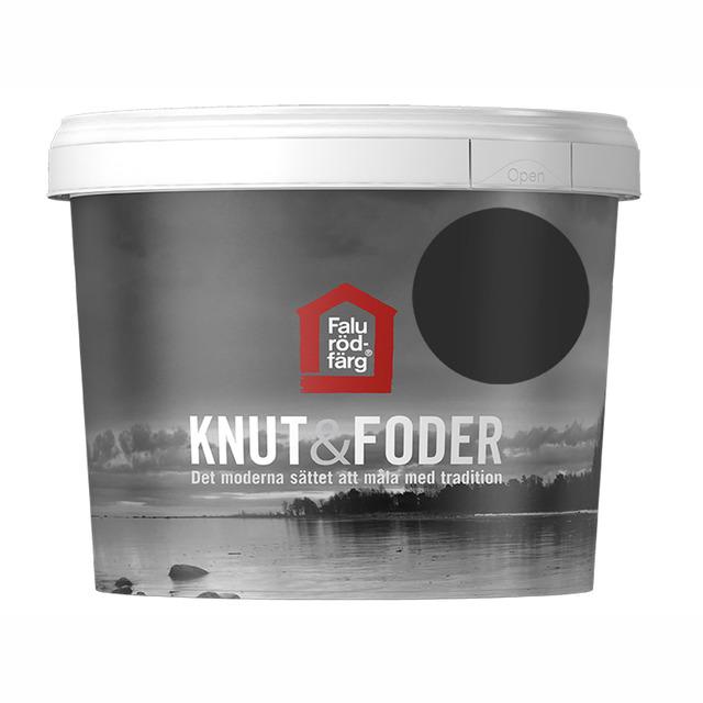 FALU RÖDFÄRG KNUT&FODER SVART