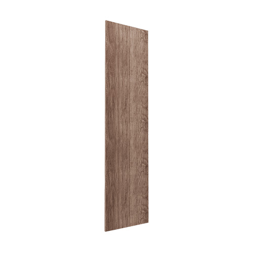 Gavlside Atlanta garderobe 216 cm, Mørk rustikk eik