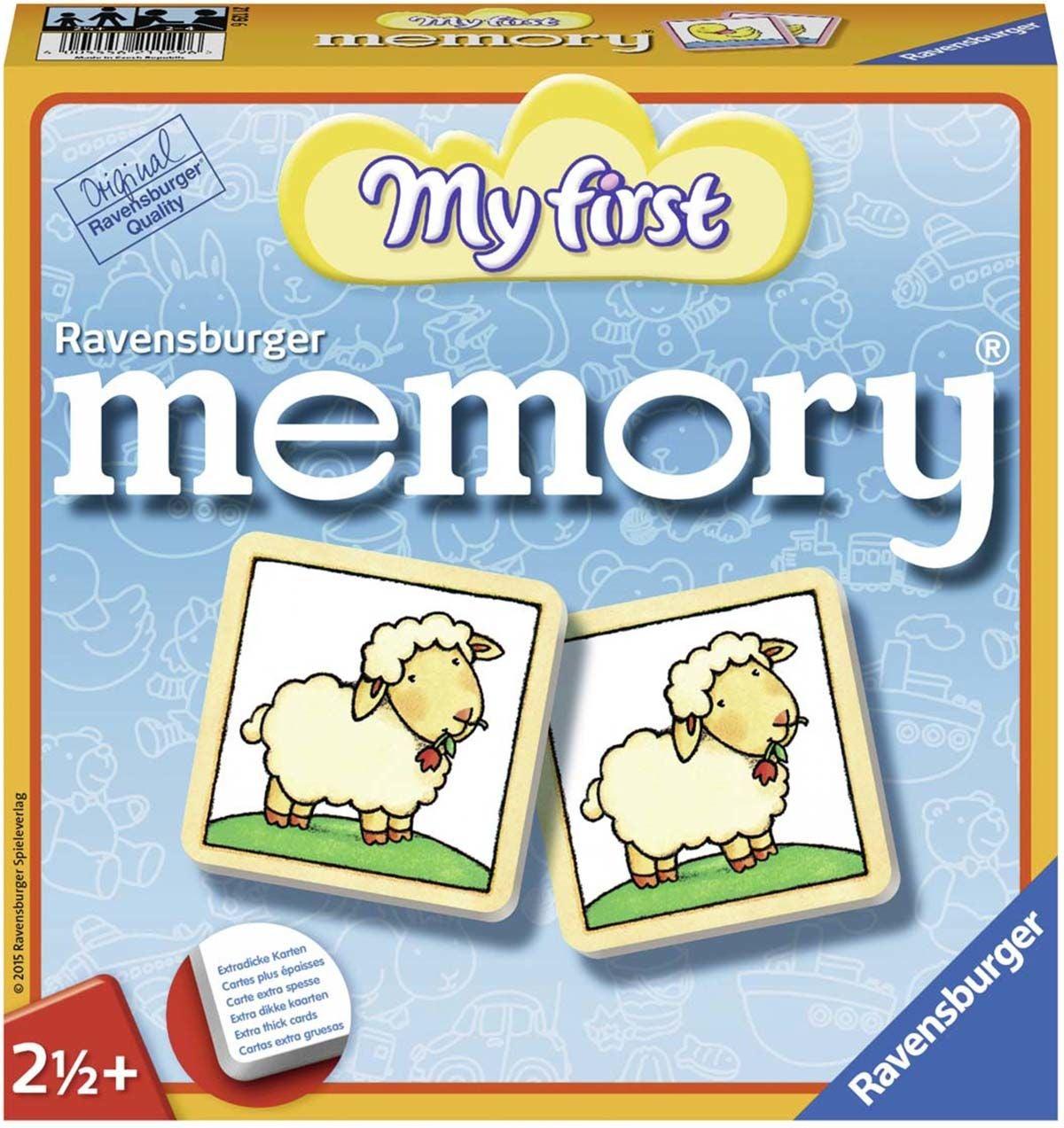 Ravensburger Memory® Mitt Första Memory, Djur